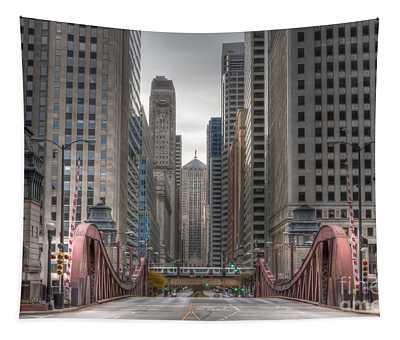 0295 Lasalle Street Chicago Tapestry