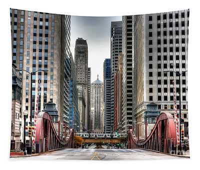 0295b Lasalle Street Bridge Tapestry