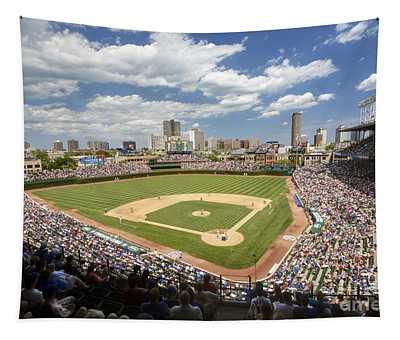 0415 Wrigley Field Chicago Tapestry