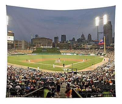 0555 Comerica Park Detroit Tapestry