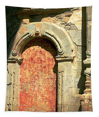 0584 San Juan Capistrano Mission Tapestry