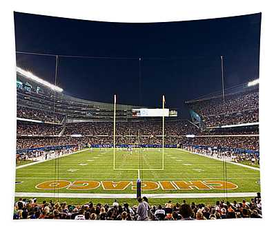 0587 Soldier Field Chicago Tapestry
