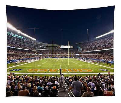 0588 Soldier Field Chicago Tapestry