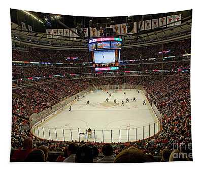 0616 The United Center - Chicago Tapestry