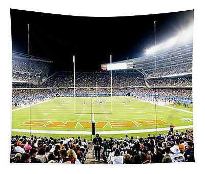 0856 Soldier Field Panoramic Tapestry