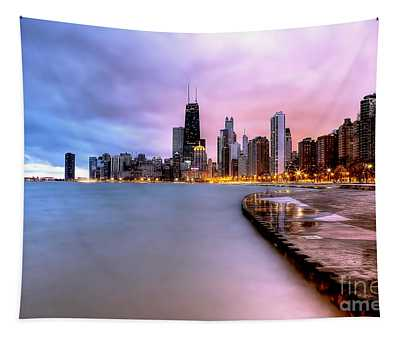 0865 Chicago Sunrise Tapestry