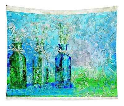 1-2-3 Bottles - S13ast Tapestry