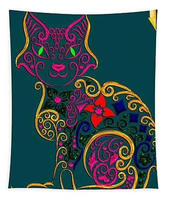 Cat Series 02 Tapestry