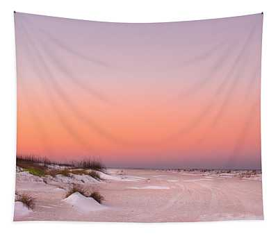 Anastasia Beach Sunset Tapestry