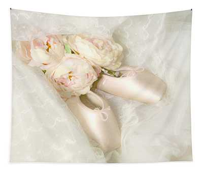 Ballet Shoes Tapestry