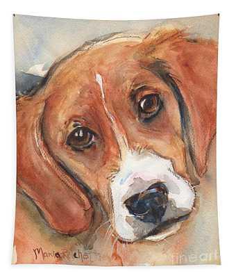 Beagle Dog  Tapestry