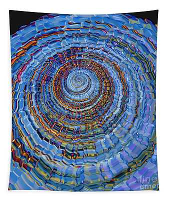 Blue World Tapestry