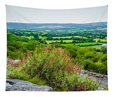 Tapestry featuring the photograph Burren National Park's Lovely Vistas by James Truett