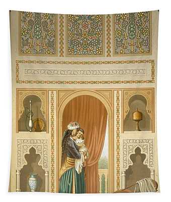 Cairo Interior Of The Domestic House Tapestry