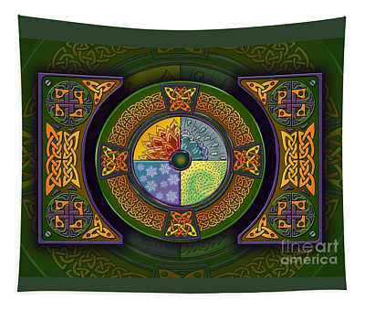 Celtic Elements Tapestry
