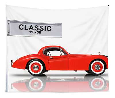 Classic Car Tapestry