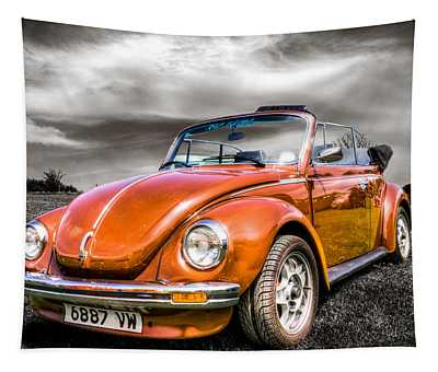 Classic Vw Beetle Tapestry