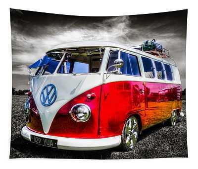 Classic Vw Camper Van Tapestry