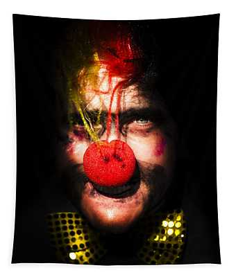 Clown Tapestry