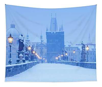 Czech Republic, Prague - Charles Bridge Tapestry
