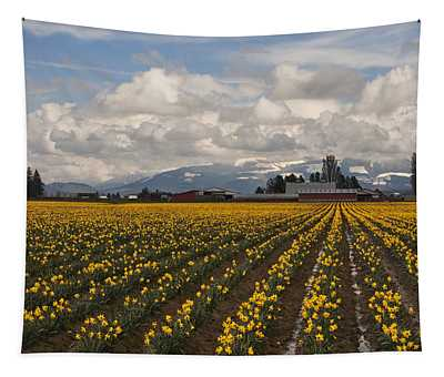 Daffodils Forever Tapestry