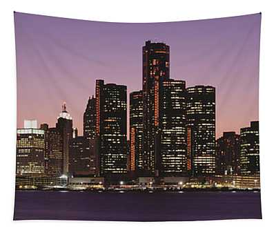 Detroit, Michigan, Usa Tapestry