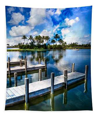 Dock On The Bay Tapestry