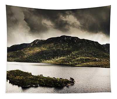 Dramatic Tasmania Landscape Of Cradle Mountain Tapestry
