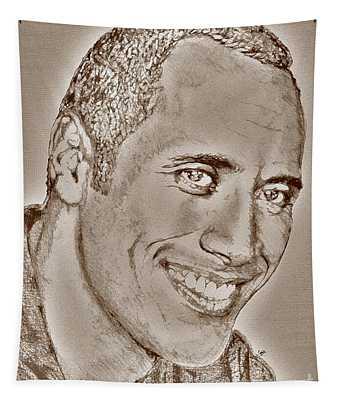 Dwayne Johnson In 2007 Tapestry