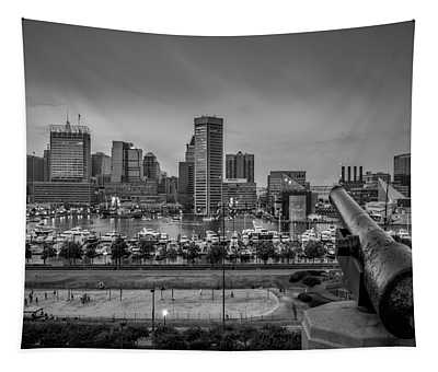 Federal Hill In Baltimore Maryland Tapestry