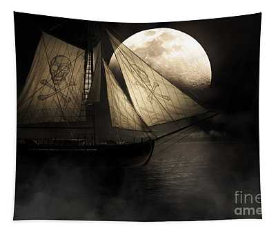 Ghost Ship Tapestry