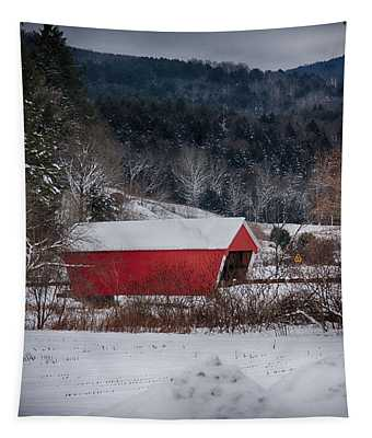 Gifford Covered Bridge In East Randolph Vermont Tapestry