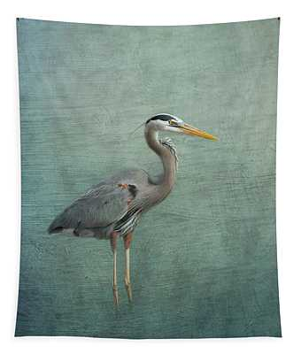 Great Blue Heron Tapestry