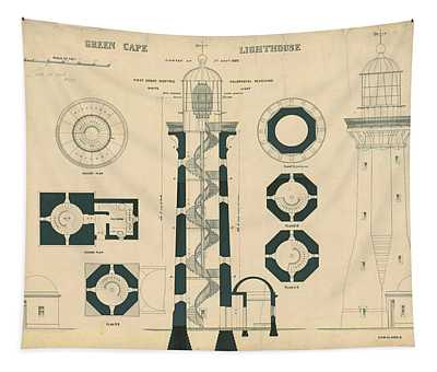 Green Cape Lighthouse Tapestry