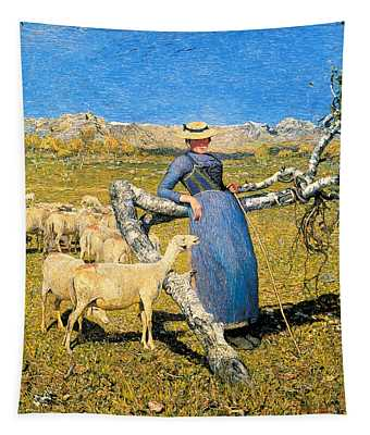 High Noon In The Alps Tapestry
