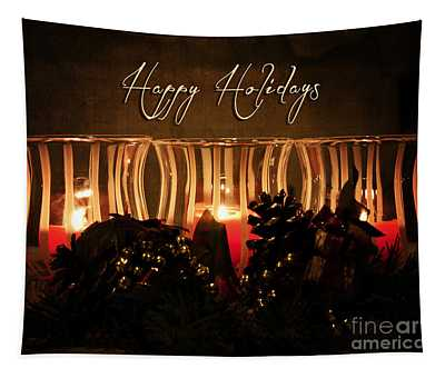 Holiday Glow Tapestry
