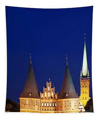 Holstentor Gate, Lubeck Tapestry