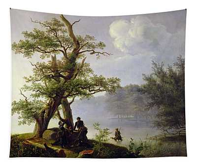 Hunting Waterfowl Tapestry