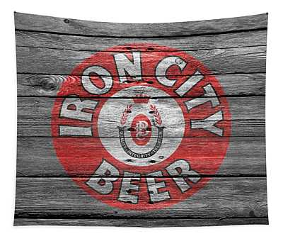 Iron City Beer Tapestry