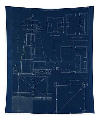 Iron Lighthouse Tapestry