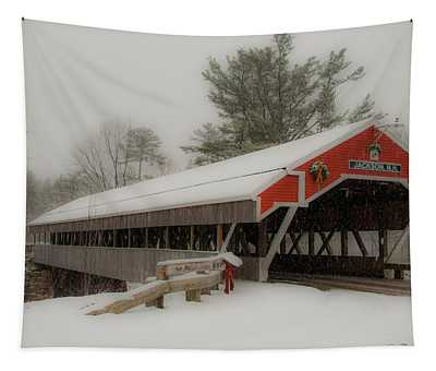 Jackson Nh Covered Bridge Tapestry