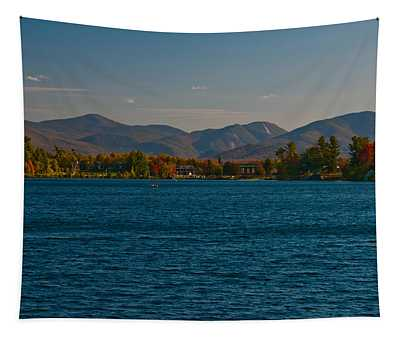 Lake Placid And The Adirondack Mountain Range Tapestry