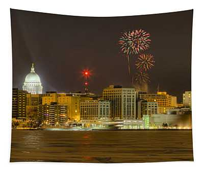Madison New Years Eve Tapestry