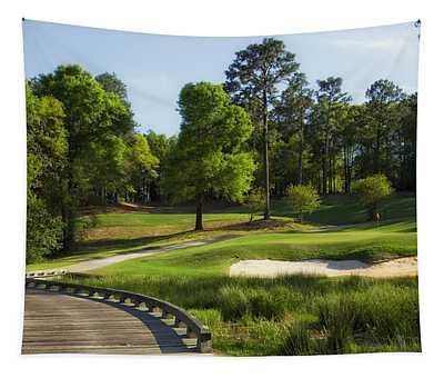 Magnolia Golf Course - Mobile Alabama Tapestry