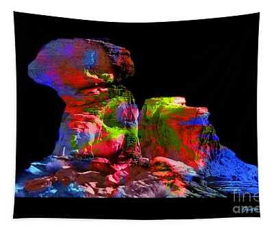 Mushroom Rock Tapestry