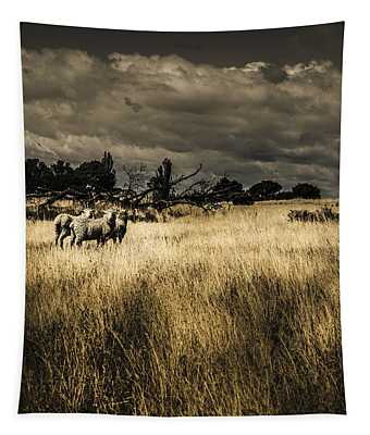 Nature Photo Of Tasmanian Countryside In Australia Tapestry
