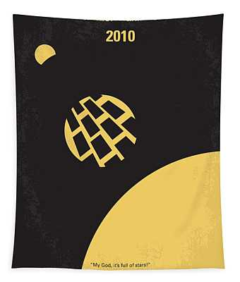 No365 My 2010 Minimal Movie Poster Tapestry