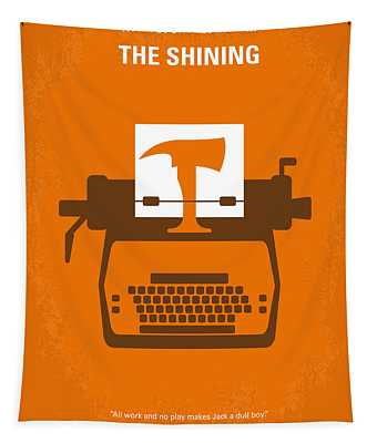 No094 My The Shining Minimal Movie Poster Tapestry