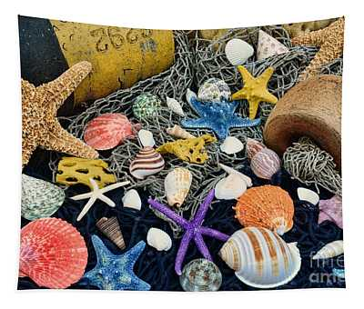 Ocean Treasures Tapestry