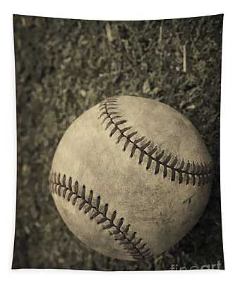Old Baseball Tapestry